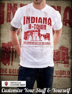 Create your own unique officially-licensed Hoosiers gear at IU's Custom Shop!