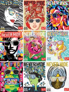 Rayban [Never Hide campaign]