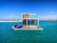 Passion For Luxury : Floating Villa Has An Underwater Level