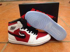 the latest 58214 89882 Air Jordan 1 AJ1 Jordan 1 Running Shoes Men Shoes A White Pink Jordan 1 Red