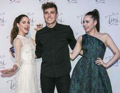 Tini Stoessel, Jorge Blanco and Sofia Carson