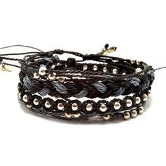 Zestaw bransoletek, macrame jewelry, macrame bracelets, friendship bracelets