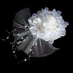 přilby Svatební květinový dámské klobouky circlety – USD $ 12.99