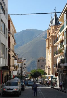 Orgiva, Andalucia, Spain.  Only a few more days & i will be there once again.  Photo taken by myself in 2011.