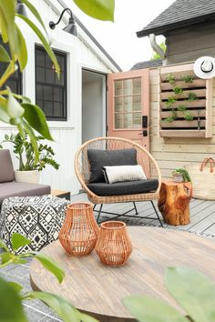 » I SPY AIRBNB | Backyard Refresh!