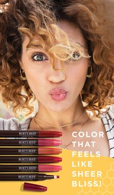 It doesn't matter whether your lips are fuchsia, scarlet, blush, or plum—when you find a lip color that looks as good as it feels, you know it. Burt's Bees new 100% Natural Tinted Lip Oils combine coconut oil and pigments to a sheer punch of color and not a bit of stickiness.