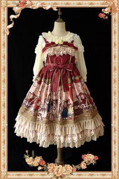 Infanta Doll Izutsu Prints Dress - simple version