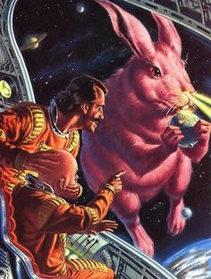 Space Rabbit | Source: Unknown