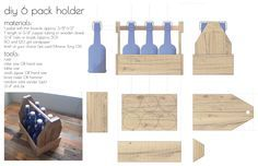 Father's Day Gift: How to Build A DIY Reclaimed Wood 6-Pack Holder – Box Brew Kits