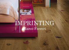 Artistic wood flooring Imprinting
