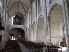 Eglise de la Trinité.Angers (Maine-et-Loire) - La Doutre - Pays-de-la-Loire