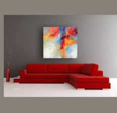 Abstract, contemporary art home page