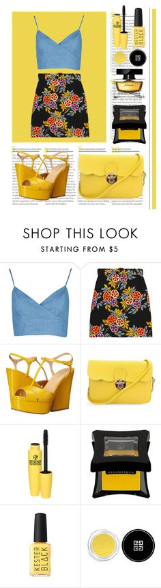 """""""Untitled #590"""" by alexa-anita2010 ❤ liked on Polyvore featuring MSGM, Sergio Rossi, Illamasqua, Givenchy and Dolce&Gabbana"""