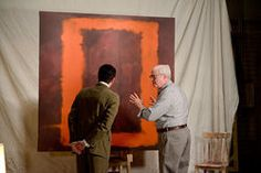 """""""Dallas Theater Center's Red Paints a Vivid Portrait of Angry Mark Rothko"""" via dallasobserver.com"""