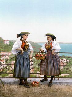 Vierlaender Tracht Hamburg 1900 #Vierlande #Hamburg
