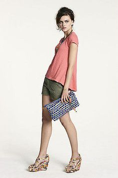 NWT Anthropologie Forest Lace Shorts size 2 $128