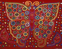 Butterfly, Kuna Indians Kit