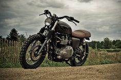 Triumph Bonneville Scrambler by FCR • Highsnobiety
