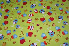 3/4 Yard x 44 Wide Holiday Cotton Fabric by HelaQ on Etsy