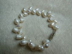 Freshwater Pearl Bracelet by handmadejewelrybypam on Etsy