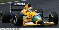 Nelson PIQUET - Benetton B191 - 1991