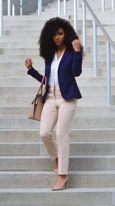 555580ff555c 40 Amazing Spring Outfits for Black Women Style. Office Wear  CorporateCorporate ...
