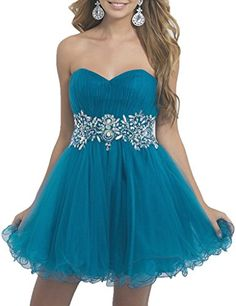 Ice Beauty Crystal Sweetheart Tulle Ball Gown Short Homecoming Party Dresses Blue US 2 Ice Beauty http://www.amazon.com/dp/B0169ST8FY/ref=cm_sw_r_pi_dp_v5jNwb1346EQA