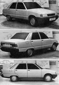 OG | VAZ-2112 / ВАЗ-2112 / Lada 2112 | Mock-up dated 1983
