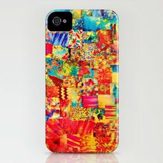 PAINTING the SOUL Custom iPhone 4 4S iPhone 5 by EbiEmporium, $40.00