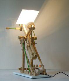 Lampe à jouer par Stéphane Mouflette