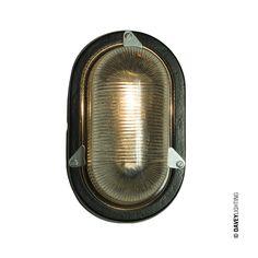 7001 Oval Aluminium Bulkhead Fittings by Davey Lighting