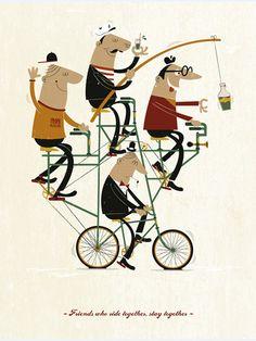 Quad Bike by Ben Steers