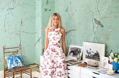The British Vogue contributing editor and mother of two has a sunny disposition and a wardrobe to match. Here, Pippa Holt talks family, fashion and life in two cities.