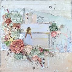 Goodmorning lovelies, Today I am here to share 12 by12 layout that I made for my DT work at CraftAddiction, this time also using a lot ...