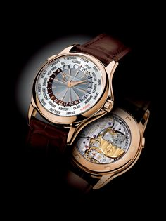 Patek Philippe 5130 R–017 World Timer in Rose Gold