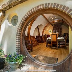 Fans of Lord of the Rings can now live as a hobbit for as little as a night. Shire Hollow is a hand-crafted Hobbit house inspired by the iconic. O Hobbit, Hobbit Hole, Future House, My House, Earth Bag Homes, Fantasy House, Earthship, My Dream Home, Home And Living