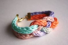 crotched ropes knotted together