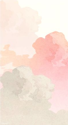 Pastell Wallpaper, Pink Clouds Wallpaper, Iphone Background Wallpaper, Pastel Color Wallpaper, Pastel Pink Wallpaper Iphone, Pastel Background Wallpapers, Blog Backgrounds, Background Images, Iphone Backgrounds