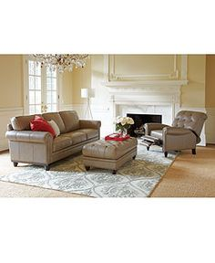 Living Room Furniture Sets Macy S Leather Sofa