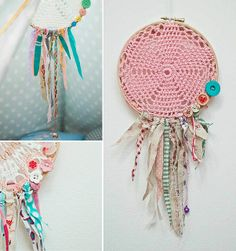 dream catcher - good way to use up all those odds and ends