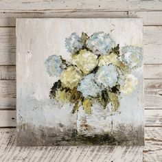 Vicki Denaburg Feel The Sunshine Floral Canvas Painting