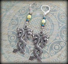 Dragon Earrings Dragon Jewelry Fantasy Dragon by SeekingEmber http://etsy.me/1M1j5WT #etsyspecialt #integritytt #etsymntt #handmade