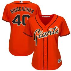 Madison Bumgarner San Francisco Giants Majestic Women s Alternate Cool Base  Player Jersey - Orange efd954538