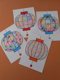 Library Lesson Plans, Library Lessons, New Year's Crafts, Crafts For Kids, Diy Crafts, Nouvel An Chinois Diy, Chinese New Year Crafts, Craft Activities, Lanterns
