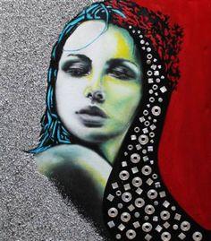"Saatchi Art Artist Giuseppina Irene Groccia - GiGro; Painting, ""Back in time"" #art"