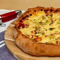 "Nyt en nystekt ""pizza galette"", håper det smaker!"