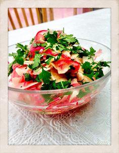 Picklad rödlök och rättika