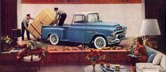 1955 GMC Truck Pictures, OldCarCafe.com
