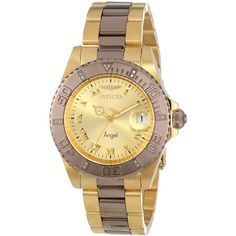 Save $684.00 on Invicta Angel Analog Display Swiss Quartz Two Tone Watch; only $111