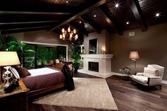 Sutton Place - mediterranean - bedroom - los angeles - Richard W. Herb and Associates
